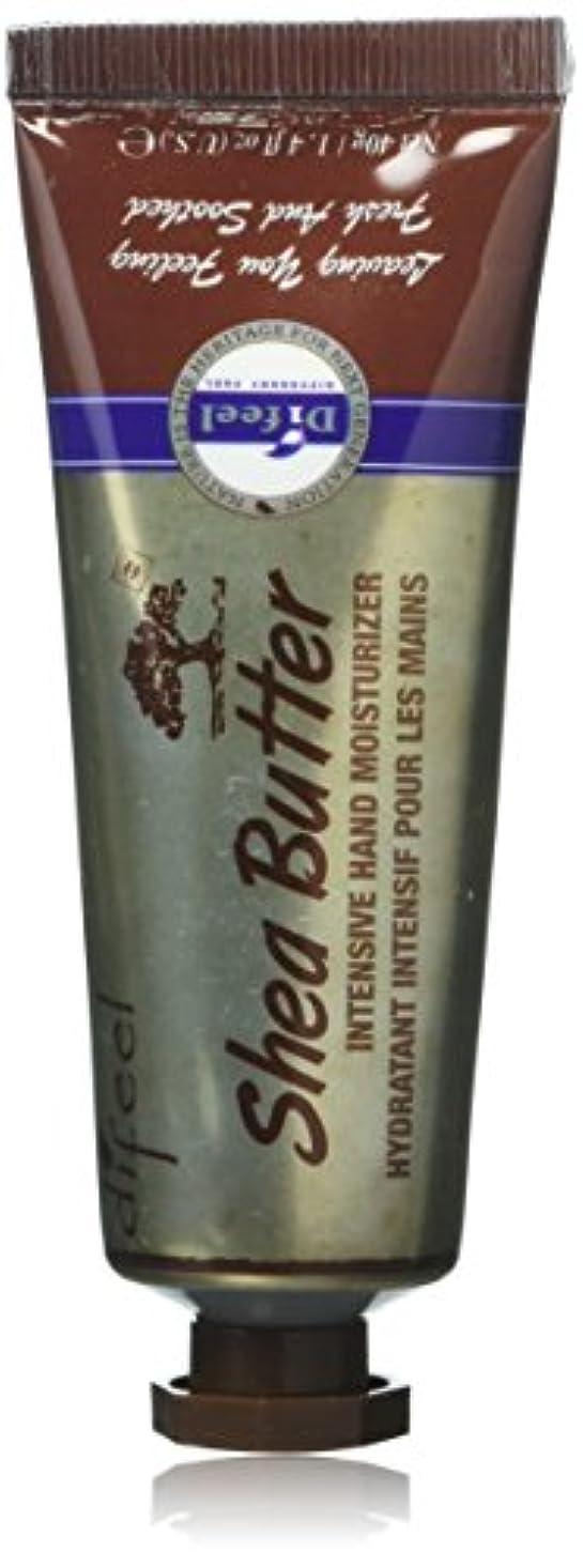 過剰廃棄幽霊Difeel(ディフィール) シアーバター ナチュラル ハンドクリーム 40g SHEA BUTTER 16SHE New York 【正規輸入品】