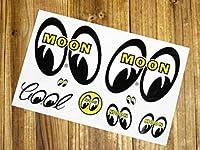 ムーンアイズ ステッカーセット MOONEYES 8アイズ_SC-DM001A-MON