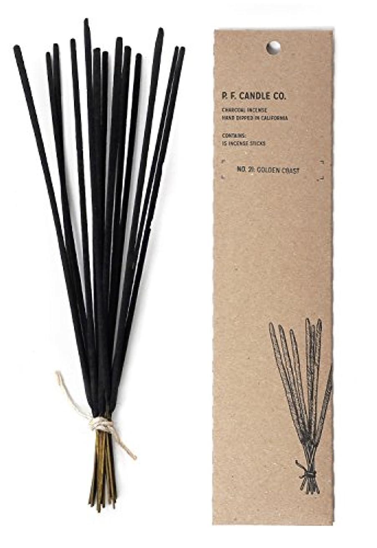 再び傾向がありますプラグp.f. Candle Co。 – No。21 : Golden Coast Incense 2-Pack