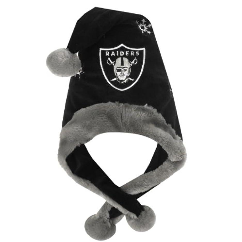 シミュレートする口述する用量NFL Oakland Raiders Thematicサンタ帽子