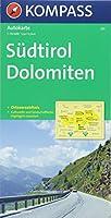 Suedtirol - Dolomiten / Alto Adige - Dolomiti  1 : 150 000: Autokarte 1:150000 mit Ortsverzeichnis.