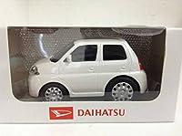 ダイハツ エッセ ESSE 235 2005年式~ ドライブタウン風 チョロQタイプ プルバックカー ミニカー 白 カラーサンプル 色見本