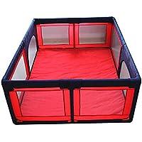 安全フェンス、子供の遊びフェンスベビーセーフティフェンス幼児クロールマットアンチフォールズフェンス屋内世帯 (サイズ さいず : 1.5 * 1.9m)