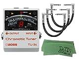 【パッチケーブル3本 + クロス セット】BOSS ボス/TU-3S Chromatic Tuner
