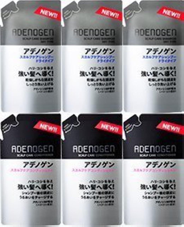 織る制限された一般的に言えば【つめ替各3個】薬用アデノゲン スカルプケアシャンプー(ドライタイプ)&コンディショナー 各310ml