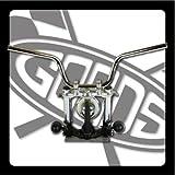 GOODS : SR400/500※(01'~)ディスクブレーキ車 ファングバー・ハンドル(クローム)  ロングワイヤー、ブレーキホースセット