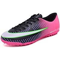 SUP-MANg Men's Football Boots Trainers Professional Sneaker Low Help Spike Soccer Shoes Competition Shoes -B (Size : 7.5)