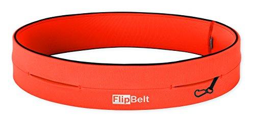 FlipBelt(フリップベルト) スポーツウエストポーチ FBN オレンジ XS