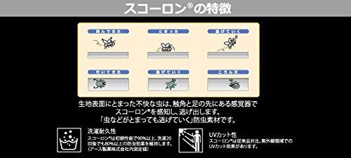 アブガルシア スコーロン 防虫素材 ドライパーカー ネイビー Lサイズ ネイビー L