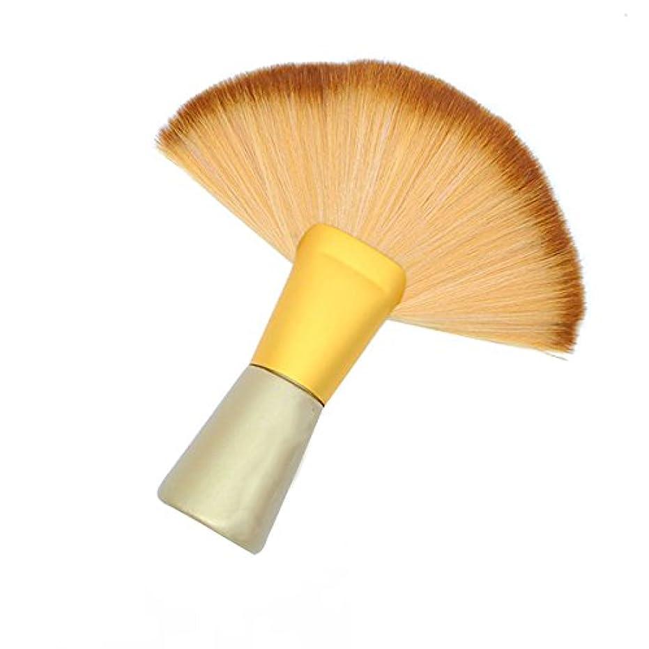権限簡単なアブストラクトHEALLILY ソフトサロン理髪ブラシダスターヘアカット理容首ブラシダスター