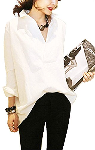 emu's mimi Vネックシャツ