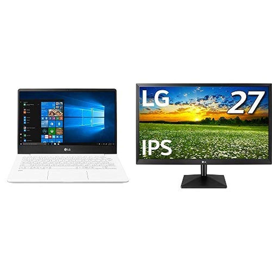 敬礼クリケットとげのある【Amazon.co.jp 限定】LG ノートパソコン gram 13Z990-GA54J + LG モニター 27MK430H-B セット
