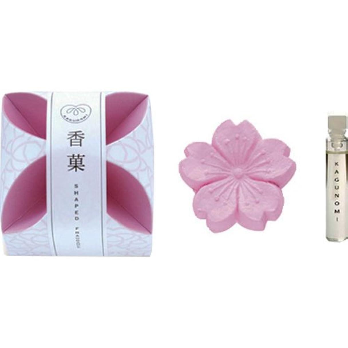 悪意より多い石の香菓 さくら形(桜色) 1入 オイル1.8mm付