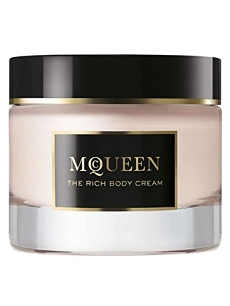 和解する証明するりMcQueen (マクイーン) 1.6 oz (50ml) Body Cream by Alexander McQueen for Women