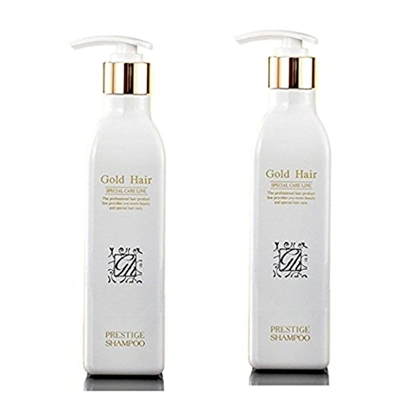 ことわざ飼料暴徒ゴールドヘア 育毛ケア シャンプー 漢方 シャンプー 抜け毛ケア ヘアケアシャンプー2本/Herbal Hair Loss Fast Regrowth Gold Hair Loss Shampoo[海外直送品] (2本セット...