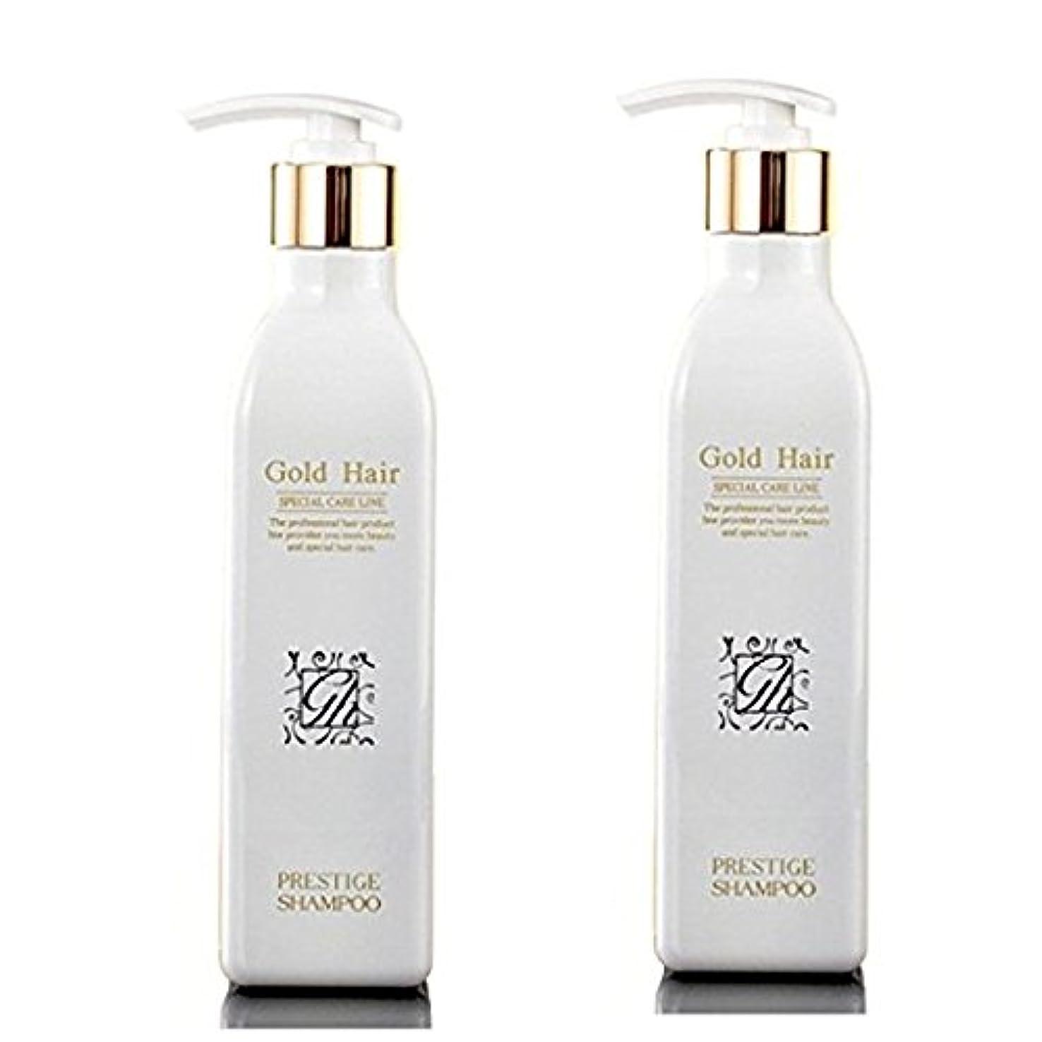 頭蓋骨曲線ハードリングゴールドヘア 育毛ケア シャンプー 漢方 シャンプー 抜け毛ケア ヘアケアシャンプー2本/Herbal Hair Loss Fast Regrowth Gold Hair Loss Shampoo[海外直送品] (2本セット...