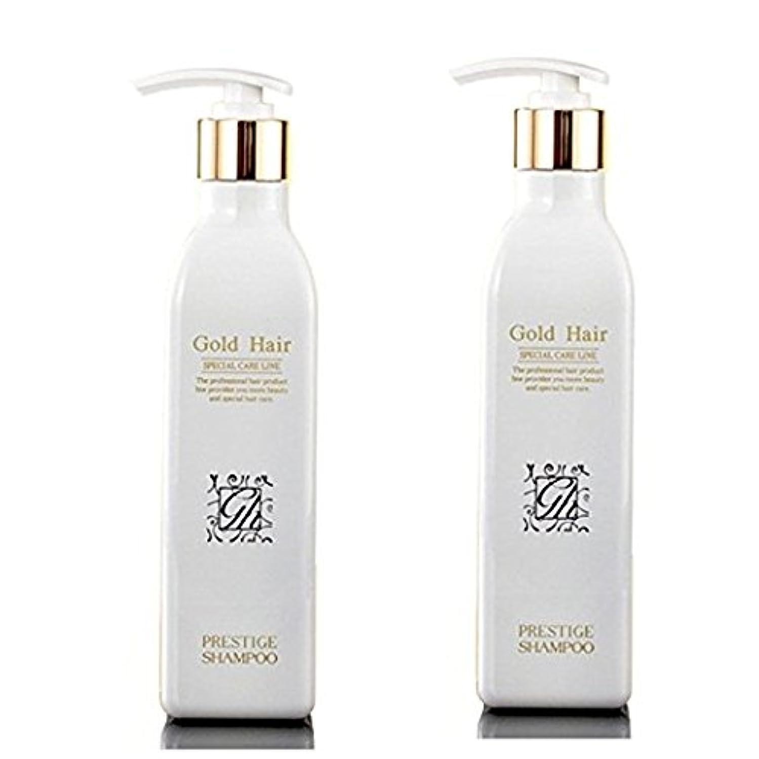 面火山のパーチナシティゴールドヘア 育毛ケア シャンプー 漢方 シャンプー 抜け毛ケア ヘアケアシャンプー2本/Herbal Hair Loss Fast Regrowth Gold Hair Loss Shampoo[海外直送品] (2本セット...
