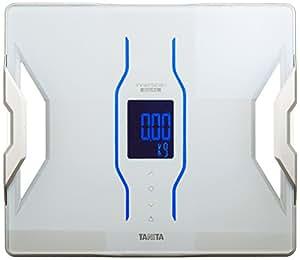 タニタ 体組成計 スマホ 50g 日本製 ホワイト RD-907 WH 医療分野の技術搭載/スマホでデータ管理 インナースキャンデュアル