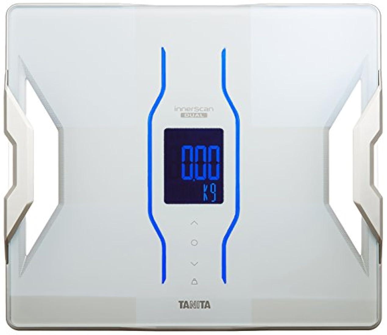 より無視する哀タニタ 体組成計 スマホ 50g 日本製 ホワイト RD-907 WH 医療分野の技術搭載/スマホでデータ管理 インナースキャンデュアル