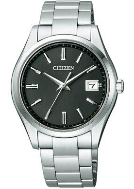 [ザ・シチズン] THE CITIZEN 腕時計 高精度エコ・ドライブ 10年間メーカー保証 AQ4000-51E メンズ [正規品]