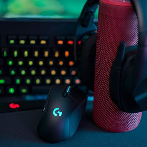 『Logicool G ゲーミングマウス ワイヤレス G703d ブラック LIGHTSPEED 無線 エルゴノミクス ゲームマウス LIGHTSYNC RGB POWERPLAY ワイヤレス充電 G703 国内正規品 2年間メーカー保証』の6枚目の画像