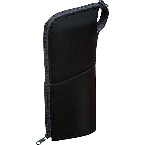 コクヨ ペンケース ネオクリッツ ラージサイズ ブラック×ダークグレー F-VBF181-1