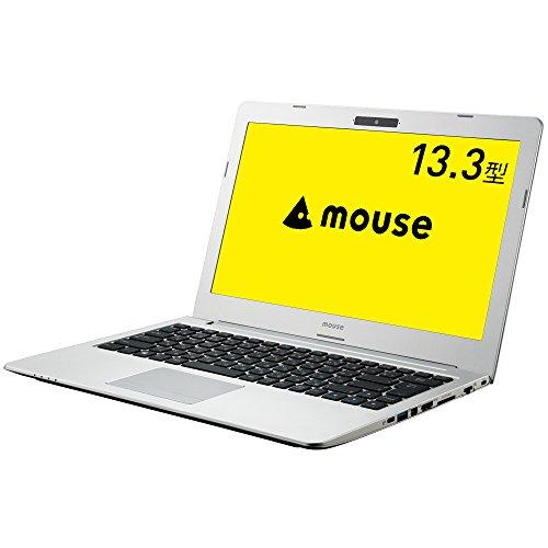 mouse ノートパソコン LTE対応 SIMフリー MB-13BCM4S1WLT Celeron 3865U/13.3インチ フルHD/4GBメモリ/120GB SSD/Windows 10