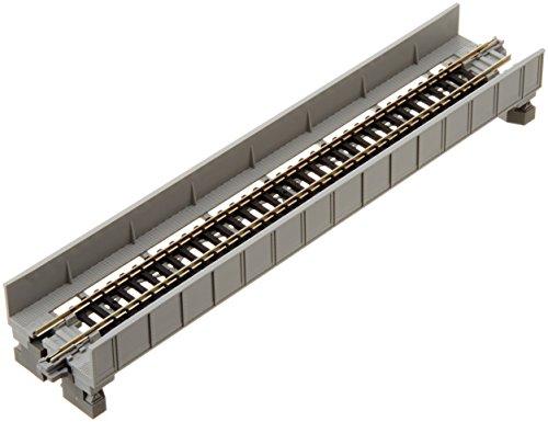 20-452 単線プレートガーダー鉄橋 灰