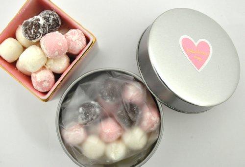 バレンタイン 京ころも ギフト缶ver チョコ飴・ミルク飴・苺ミルク飴