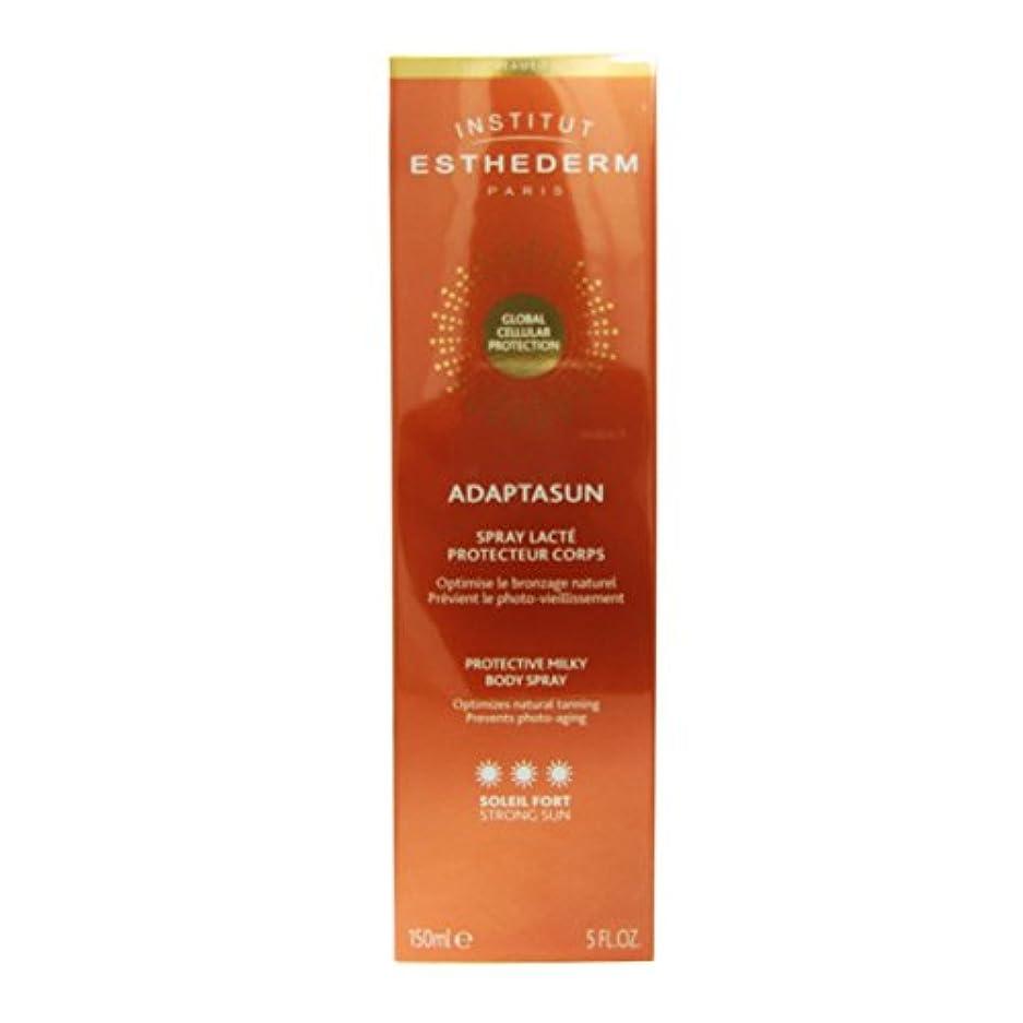 どこにでも有限一般的なInstitut Esthederm Adaptasun Protective Milky Body Spray Strong Sun 150ml [並行輸入品]