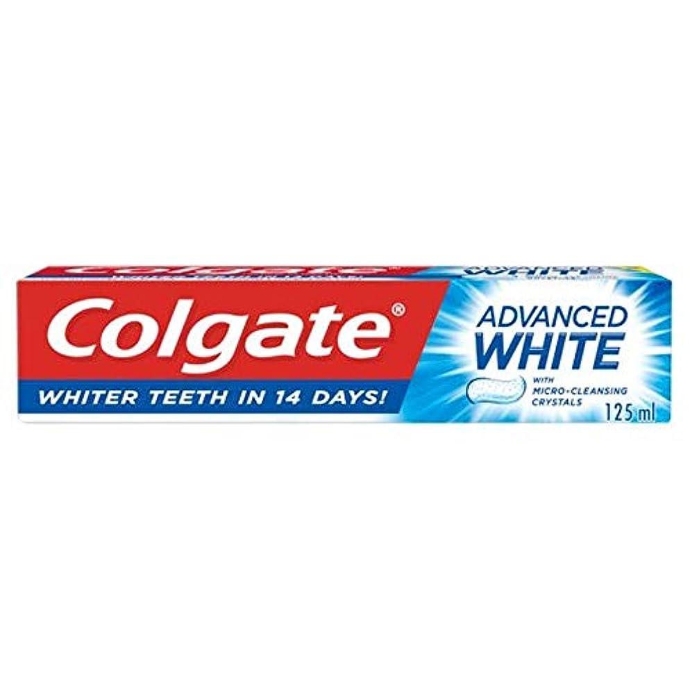 土曜日着服ポンプ[Colgate ] コルゲート高度な白い歯磨き粉の125ミリリットル - Colgate Advanced White Toothpaste 125Ml [並行輸入品]