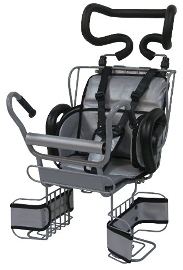 ビジュアル流行保守的平田プレス エクセルチャイルドシート 後用 ヘッドレスト付き N-SR DX SG 3点ベルト シルバー