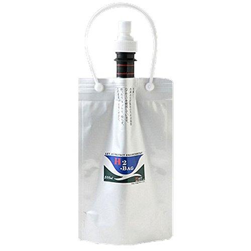 【水素水真空保存容器】 H2-BAG 500ml (加水素(...