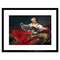 Painting France Pierre Favourite Lamb Framed Wall Art Print ペインティングフランス壁