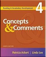 Concepts & Comments, 3/e* Text (264 pp) (Concepts & Comments 3/e)