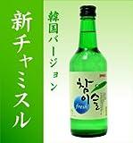 新チャミスル・フレッシュ360ml 5本入り (韓国バージョン)(翌日出荷可)