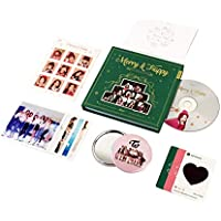 TWICE 1st Repackage Album - Merry & Happy [ MERRY Ver. ] CD + Photo book + Photo card + Post card + Sticker + FREE GIFT / K-pop Sealed