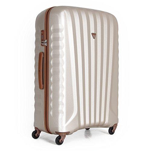(ロンカート) RONCATO ウノ ジップ デラックス 100L 5211 スーツケース 大型 軽量 ファスナー ゴールド(GD)