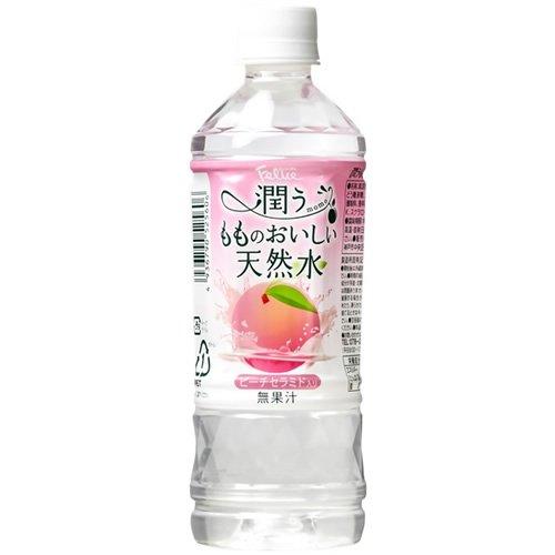神戸居留地 フェリーチェ 潤うもものおいしい天然水(500mL*24本入)