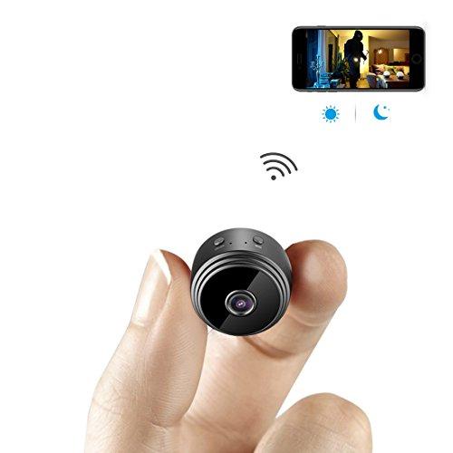 aobo 超小型WiFi隠しカメラ 1080P高画質小型スパ...