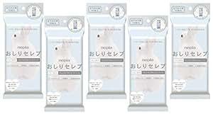 ネピア おしりセレブ 【5パックセット】 ウエットタイプのトイレットペーパーおでかけ・携帯用 12枚×5パック