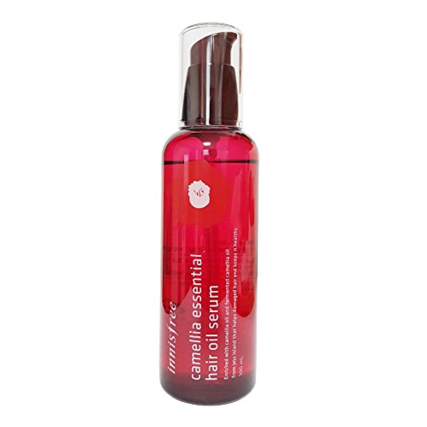 呼び出す飲み込む大破[イニスフリー] Innisfree カメリアエッセンシャル?ヘア?オイルセラム (100ml) Innisfree Camellia Essential Hair Oil Serum (100ml) [海外直送品]