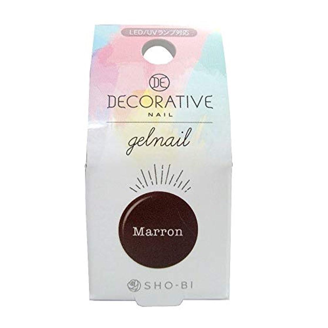 洗剤効率的に仮定DECORATIVE NAIL デコラティブネイル ジェルネイル カラージェル マロン TN81185
