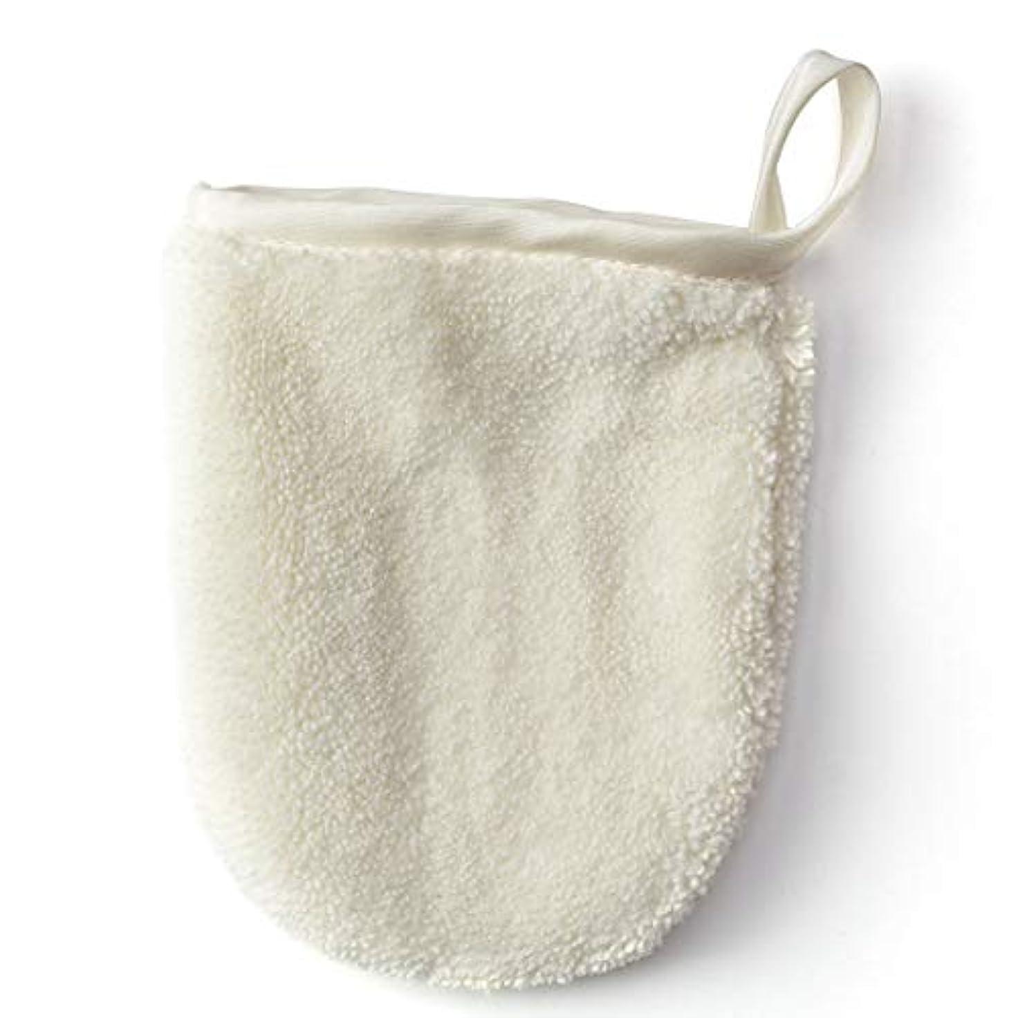 迫害長々と必要条件メイク落とし布マジックタオル、再使用可能な洗顔タオル - 化学薬品は、ただ水で化粧をすぐに取除きます(5PCS),White