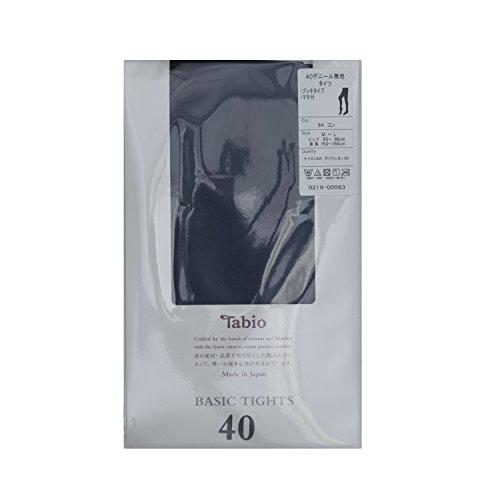 (Tabio)Tabio光滑腿40旦褲襪M〜L尺寸