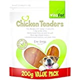 Vita Pet Jerhigh Chicken Tenders, Dog Treats, for Adult Dogs and Puppies, Small/Medium/Large dogs, 200g
