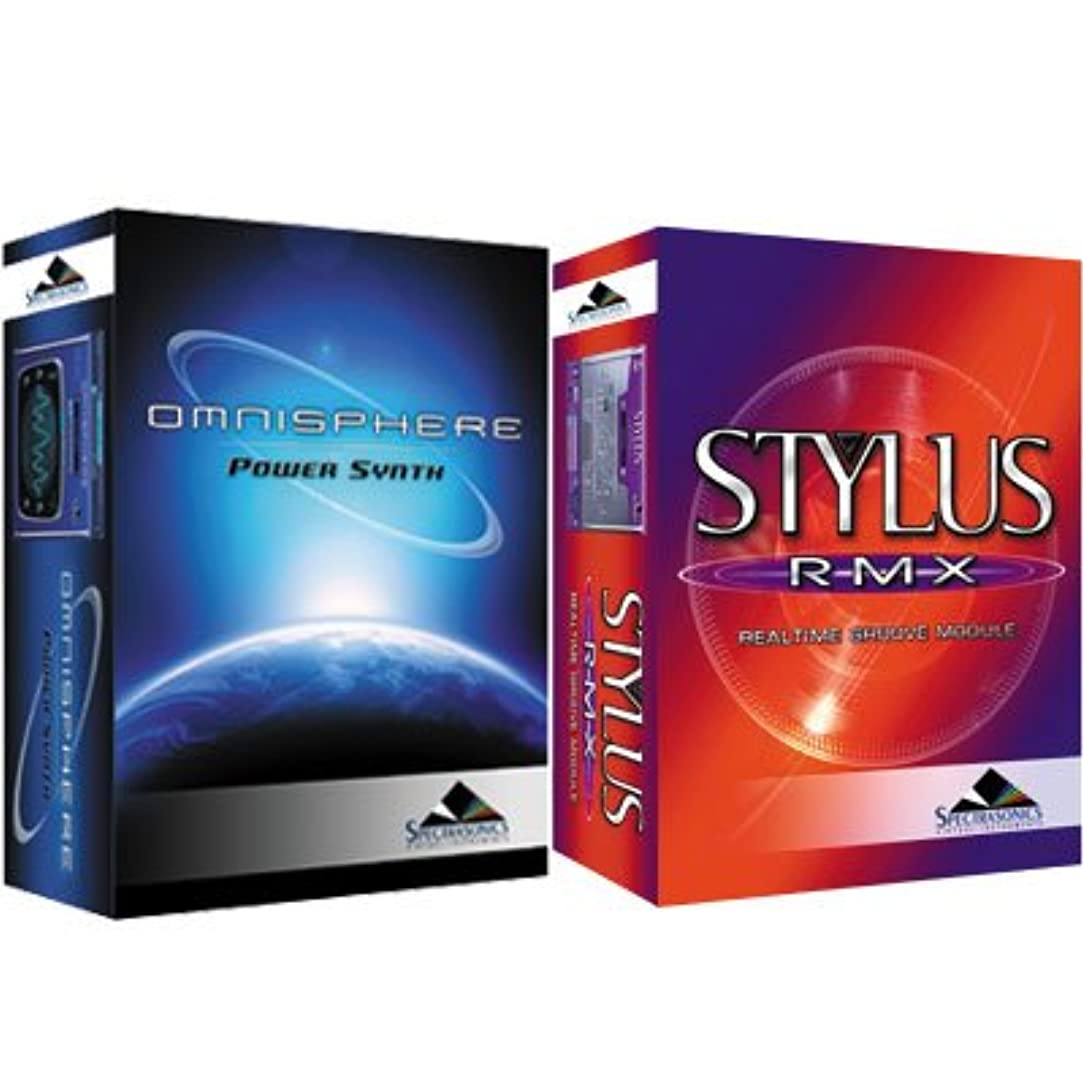 性交欠乏受粉者SPECTRASONICS STYLUS RMX XP + OMNISPHERE セット