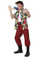 Ace Ventura Fancy dress costume with Wig Medium