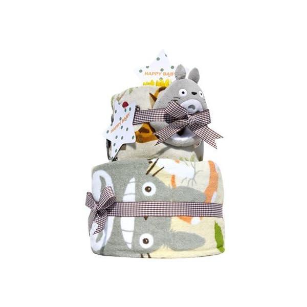 おむつケーキ研究所 となりのトトロ 出産祝い ...の紹介画像2