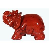 Elephant Statue / Namaste / BloodクリスタルStatue